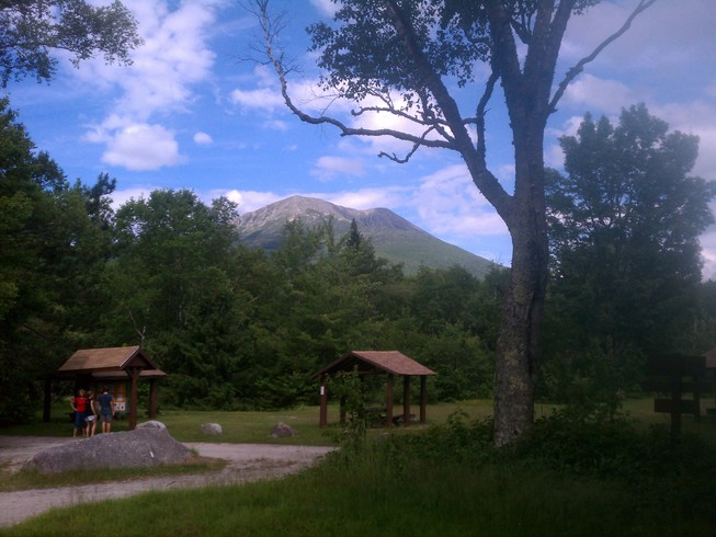 Mt. Katahdin, foot of the Hunt trail